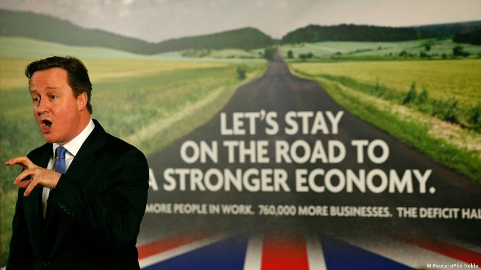 Tory election blunder: British road to recovery...in Germany? | DW | 05.01.2015