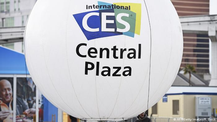 CES 2015 logo and sign, Las Vegas (Robyn Beck/AFP/Getty Images)