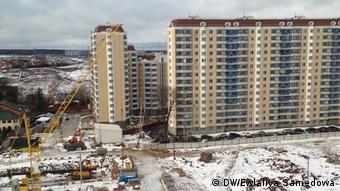 Новые жилые дома в Москве