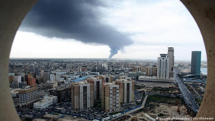 Libyen Übersicht Panorama Tripolis
