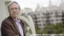 epa03928958 British writer Ian McEwan poses for the photographers during the presentation of his latest novel 'Sweet Tooth' in Barcelona, north-eastern Spain, 29 October 2013. EPA/TONI ALBIR