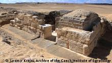 Abusir Ägypten Grab Grabung Archäologie