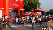 Mosambik Nampula Straßenverkäufer Vodacom