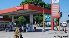 Mosambik Nampula Tankstelle