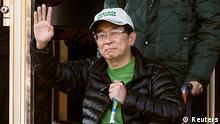 Taiwan früherer Präsident Chen Shui-bian vom Gefängnis entlassen