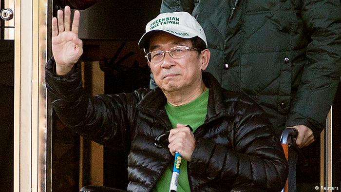 Taiwan früherer Präsident Chen Shui-bian vom Gefängnis entlassen (Reuters)