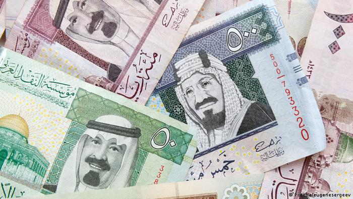 Saudi-Arabische Banknoten (Fotolia/eugenesergeev)