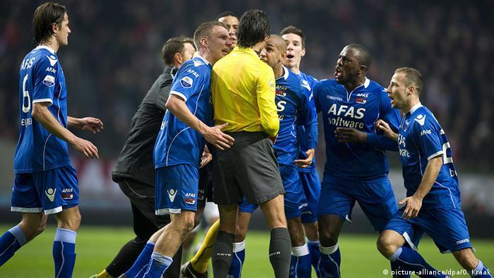 Niederlande Fußball Pokal Achtelfinale Ajax Amsterdam gegen AZ Alkmaar