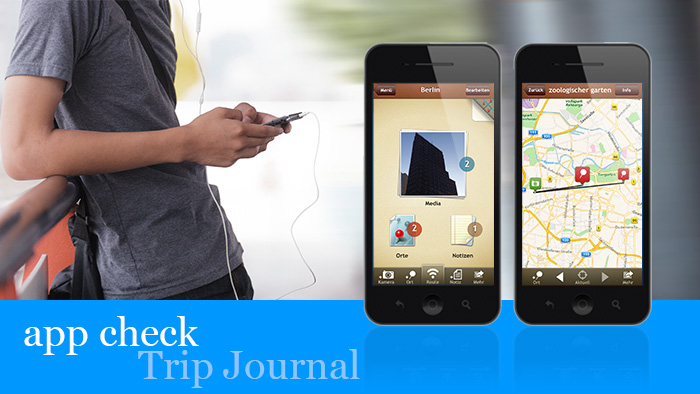 travelogue app trip journal put to the test dw travel dw 08 01