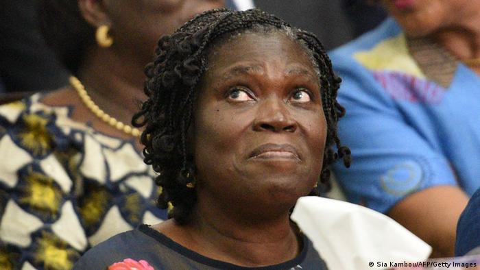 Elfenbeinküste Simone Gbagbo Prozess Foto: SIA KAMBOU/AFP/Getty Images