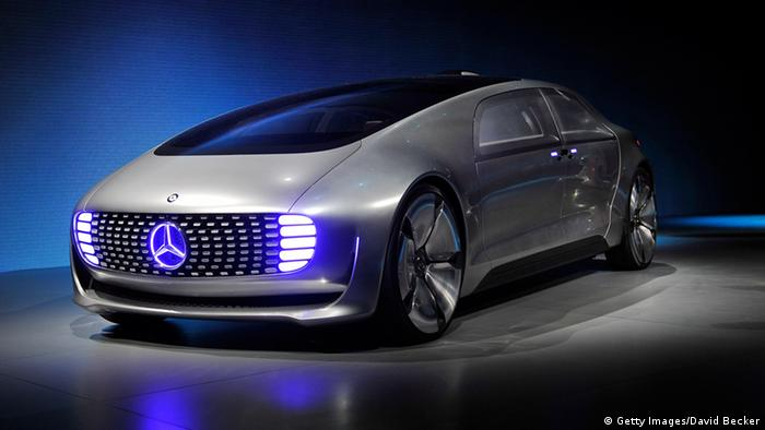 Wizja przyszłości: Mercedes-Benz F015 Luxury in Motion