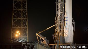 Cape Canaveral und die Falcon 9-Rakete (Foto: REUTERS/Scott Audette).