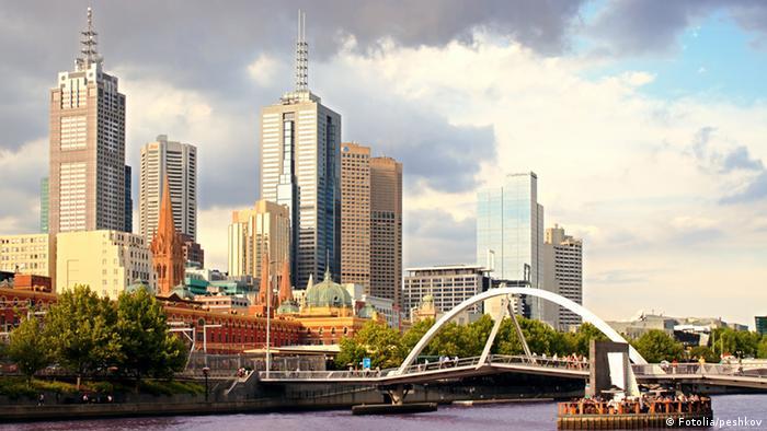 A view of Melbourne city skyline (Fotolia/peshkov)