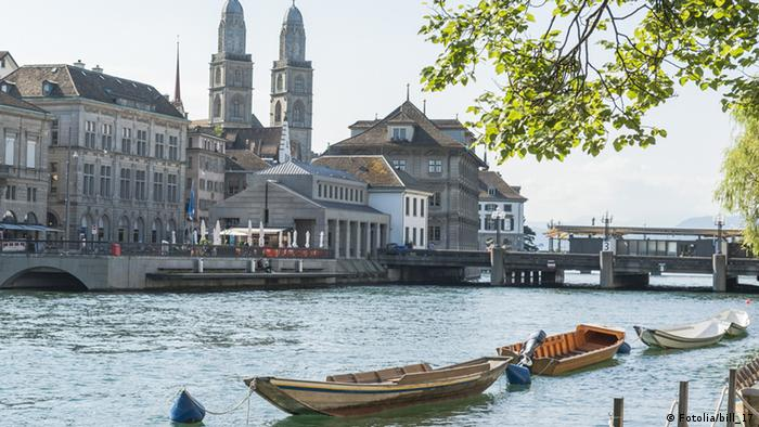 Zurich's Great Minster (Fotolia/bill_17)