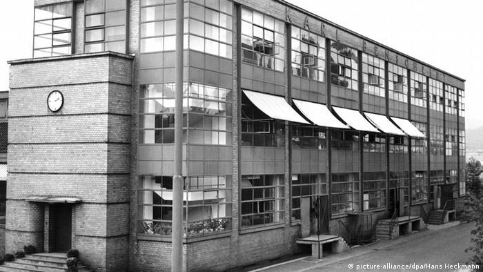 Фабрика Фагус на старой фотографии