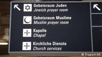 Frankfurter Flughafen Gebetsräume
