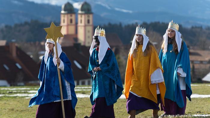 Певцы Вифлеемской звезды в Шварцвальде
