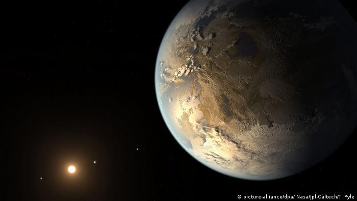 Erdähnlicher Planet Kepler 186f