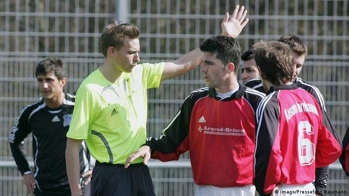 Fußball Landesliga Amateursport (imago/Pressefoto Baumann)