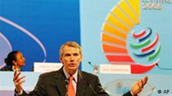 WTO Treffen 2005 in Hong Kong, Rob Portman