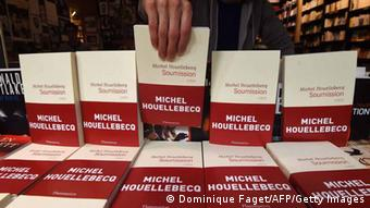 French literary author Michel Houellebecq's book Sobmission