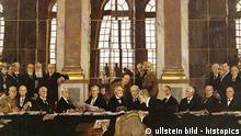 Frankreich Geschichte Weltkrieg Friedensvertrag von Versailles