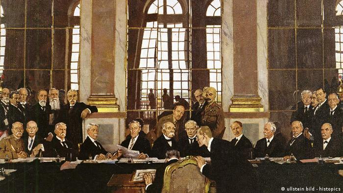 Frankreich Geschichte Weltkrieg Friedensvertrag von Versailles (ullstein bild - histopics)