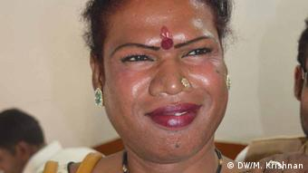 Indien Transgender Madhu Bai Kinnar