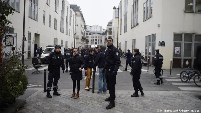 Frankreich Terror Presse Anschlag auf Charlie Hebdo in Paris
