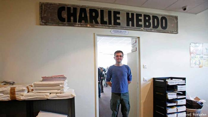 Charlie Hebdo Satiremagazin. (Foto: REUTERS/Jacky Naegelen/Files)