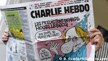Charlie Hebdo Satiremagazin Cover vom 7. Januar