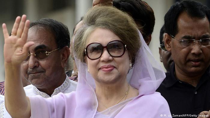 Bangladesch Khaleda Zia vor dem Gericht in Dhaka