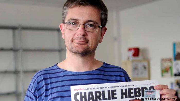 Frankreich Terror Presse Anschlag auf Charlie Hebdo in Paris Charb Chefredakteur ARCHIV