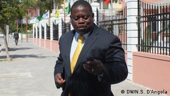 Lindo Bernardo Tito, CASA-CE in Angola (DW/N.S. D'Angola)