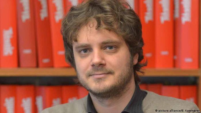 Chefredakteur des Satiremagazins Titanic Tim Wolff
