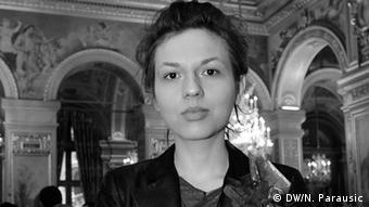 Die Komponistin Milica Djordjevic. Copyright - Pedja Vučković