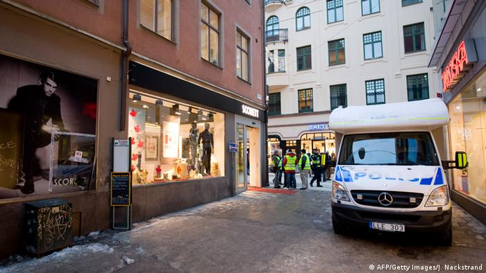 Terroranschlag in Stockholm 2010 (AFP/Getty Images/J. Nackstrand)
