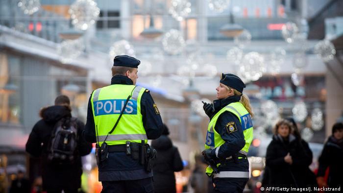Полиция в Швеции (фото из архива)