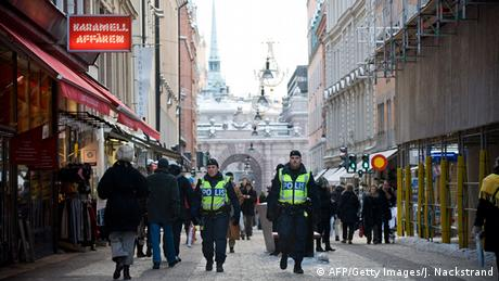 Terroranschlag in Stockholm 2010. (Foto: JONATHAN NACKSTRAND/AFP/Getty Images)