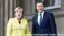 Angela Merkel Besuch in London