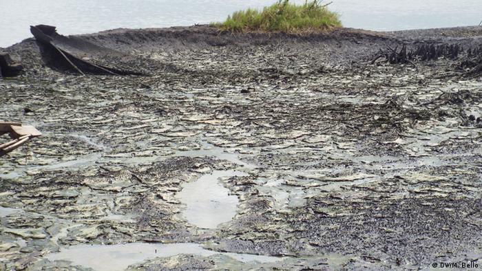 Ölverschmutzung im Niger-Delta (Foto: Mohammad Bello)