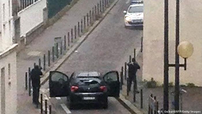 Napad terorista na redakciju Charlie Hebdoa u Parizu, 7.1.205.