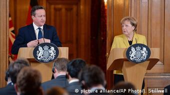 Angela Merkel Besuch in London