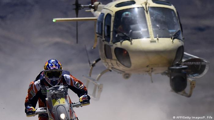 Dakar Rally (Photo: FRANCK FIFE/AFP/Getty Images)