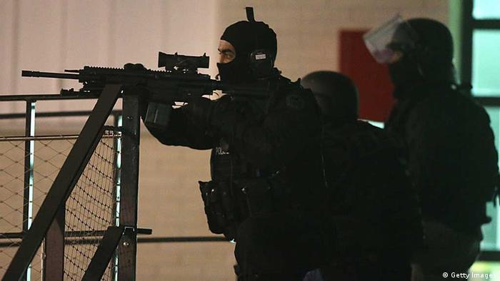 Polizeieinsatz in Reims bei der Fahndung nach den Attentätern von Paris