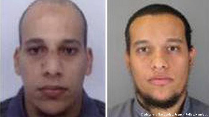 Paris Anschlag auf Charlie Hebdo - Attentäter Cherif Kouachi & Said Kouachi