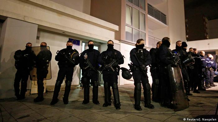 Frankreich Anschlag auf Charlie Hebdo - Polizeiaktion in Reims