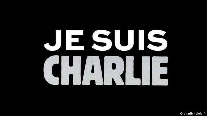 Frankreich Anschlag auf Charlie Hebdo - Screenshot charliehebdo.fr