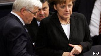 Merkel and Steinmeier