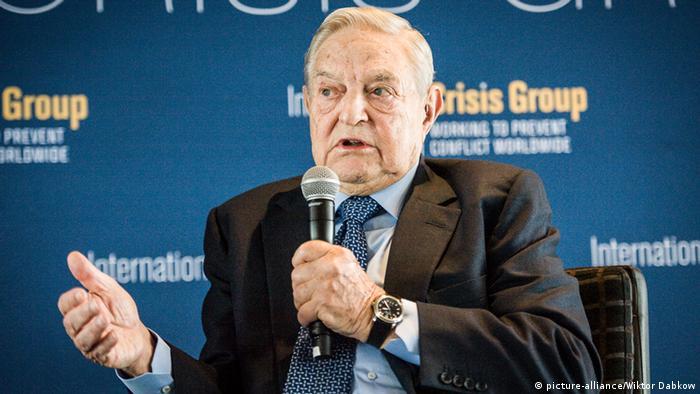 George Soros (picture-alliance/Wiktor Dabkow)